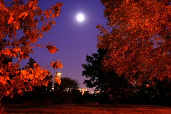 Equinozio e Luna